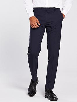 Tommy Hilfiger Suit Trouser, Navy, Size 36, Inside Leg Regular, Men thumbnail