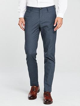 Tommy Hilfiger Smart Trouser, Blue, Size 36, Inside Leg Regular, Men thumbnail