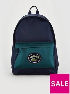 1fef8aca4b6a48 Lacoste Sportswear Canvas Logo Rucksack