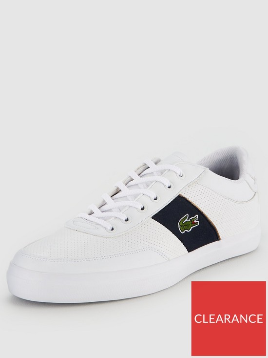 960660399 Lacoste Court-Master 318 1 Trainer