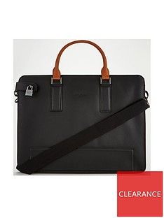 Ted Baker Micro Perf Leather Document 2ddee4eda6f8