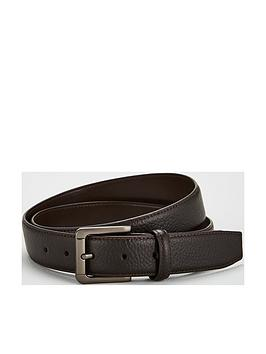 v-by-very-brown-textured-leather-belt