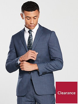 calvin-klein-mini-grid-suit-blazer