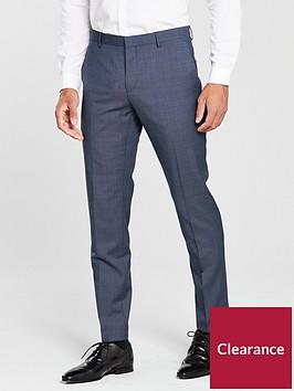 calvin-klein-mini-grid-suit-trouser