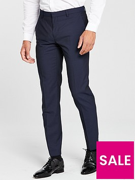 calvin-klein-calvin-klein-mini-check-design-suit-trouser