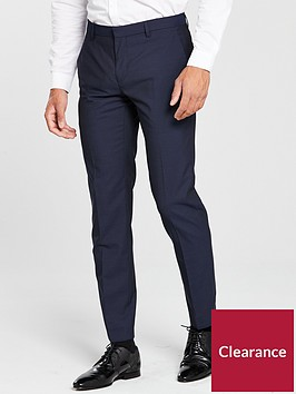 calvin-klein-calvin-klein-mini-check-design-suit-trouser