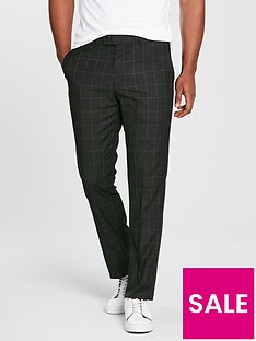 v-by-very-slim-check-smart-trouser-charcoal
