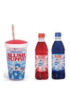 slush-puppie-gift-set-syrup-blue-raspberrycherry-and-slush-puppie-straw-cup