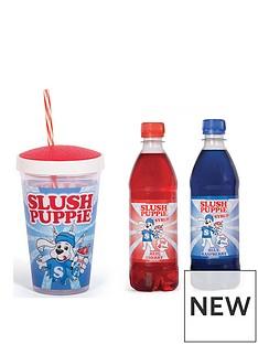 slush-puppie-gift-set-syrup-blue-raspberrycherry-and-slush-puppie-straw-cup