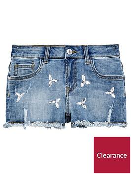 v-by-very-girls-embelished-denim-shorts