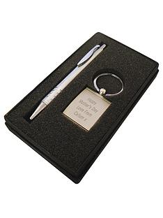personalised-pen-and-keyring-set