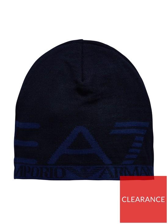 496c4b470ca Emporio Armani EA7 Visibility Beanie Hat