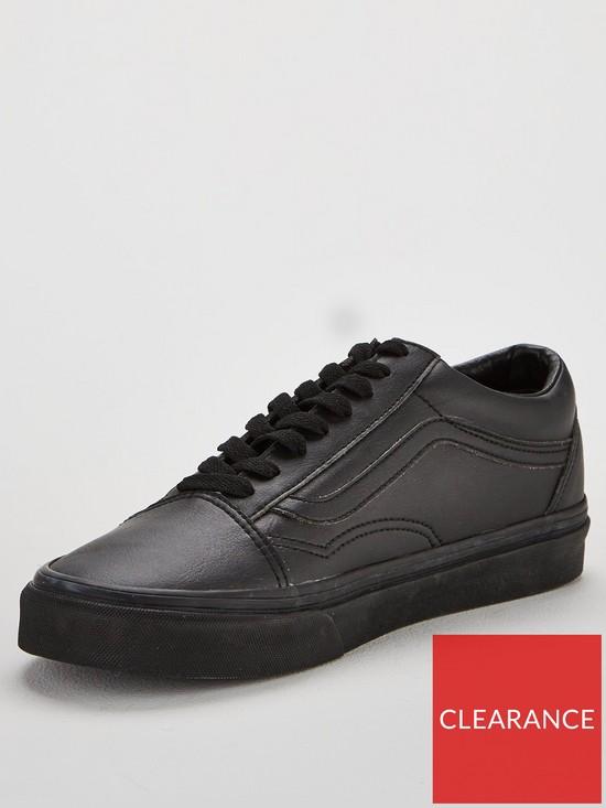 3c9f7a9dc4 Vans Old Skool Leather