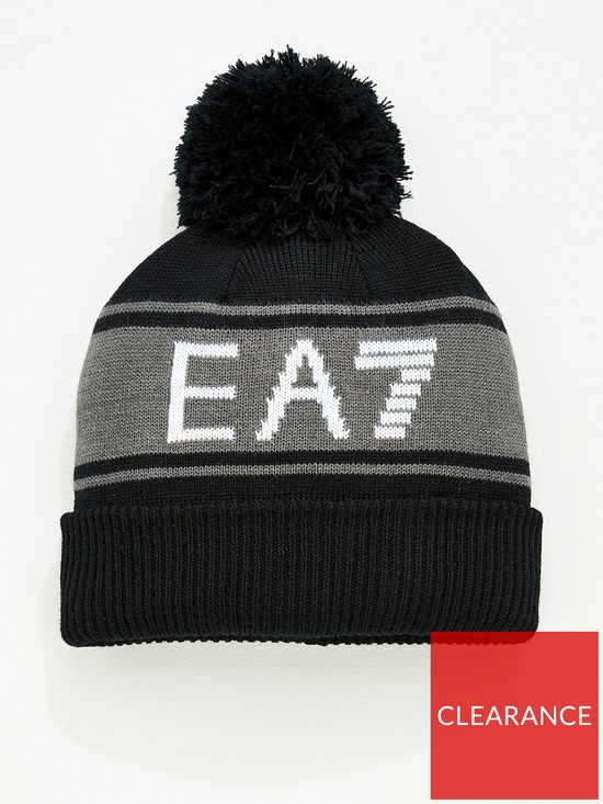 Emporio Armani EA7 Urban Beanie Hat   very.co.uk 8a60024665a