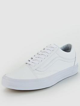 Vans Old Skool Leather - White