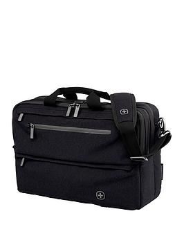 Wenger Windbridge Laptop Business Case With Tablet Pocket - Black