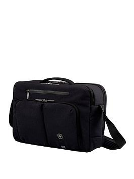 Wenger Citystream Laptop Business Case With Tablet Pocket - Black