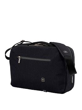 Wenger Citystep Laptop Slimcase With Tablet Pocket - Black