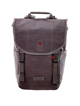 Wenger Foix 16 Inch Laptop Backpack With Tablet Pocket - Grey