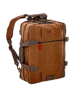Wenger Mandria 15.6 Inch Convertible Backpack With Tablet Pocket - Camel