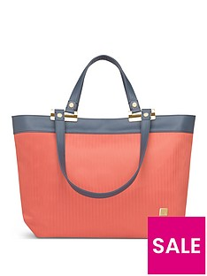 moshi-verana-ladies-work-tote-bag-amber-orange