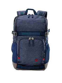 Wenger Street Flyer 16 Inch Laptop Backpack With Tablet Pocket - Denim