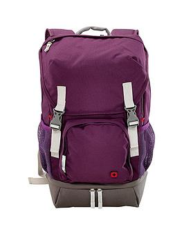 Wenger Jetty 16 Inch Laptop Backpack With Tablet Pocket - Purple