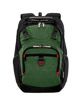 Wenger Priam 16 Inch Laptop Backpack With Tablet Pocket - Green
