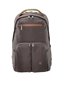 Wenger Citygo Laptop Backpack With Tablet Pocket - Grey