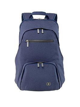 Wenger Citydive Laptop Backpack With Tablet Pocket - Navy