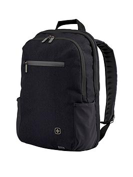 Wenger Cityfriend Laptop Backpack With Tablet Pocket - Black