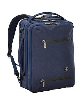 Wenger Cityrock Convertible Laptop Backpack - Navy