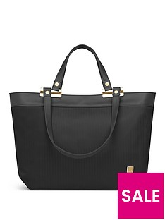 moshi-verana-ladies-work-tote-bag-slate-black