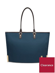 moshi-aria-ladies-lightweight-slim-tote-bahama-blue