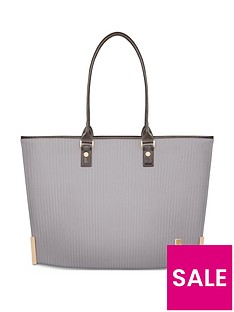 moshi-aria-ladies-lightweight-slim-tote-ceramic-gray