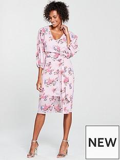 mango-mango-floral-midi-dress
