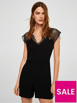 mango-lace-detail-playsuitnbsp--black
