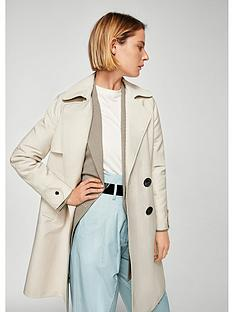 mango-double-breasted-trench-coat-beige