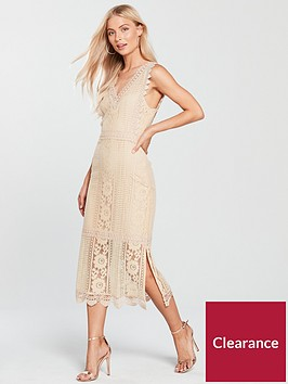 mango-lace-dress-nude