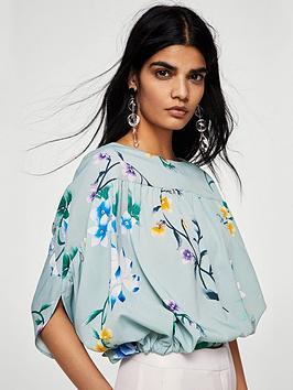 mango-floral-blouse-aqua