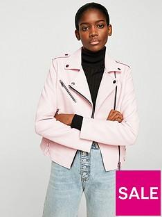 mango-punbspbiker-jacket-pink
