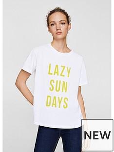 mango-lazy-sundays-t-shirt-white