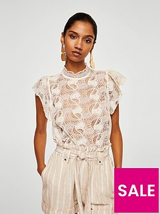 mango-high-neck-lace-top