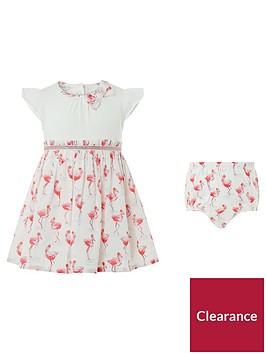 monsoon-newborn-baby-freya-flamingo-dress
