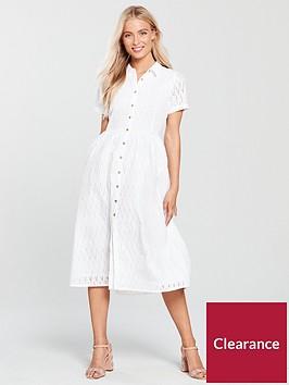 mango-broderie-anglaise-midi-dress-white