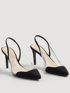 mango-gardenia-perspex-court-shoe-black