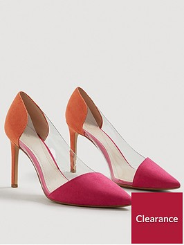 mango-alegra-perspex-court-shoe-orange