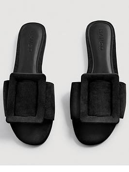 mango-buckle-slider-black
