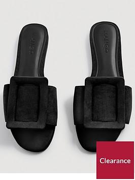 mango-buckle-slider-black