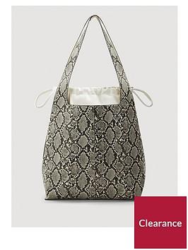 mango-snake-print-bucket-bag